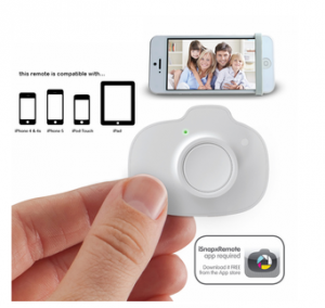 This control will allow you to snap a photo using your iPad or iPhone up to 10 feet away